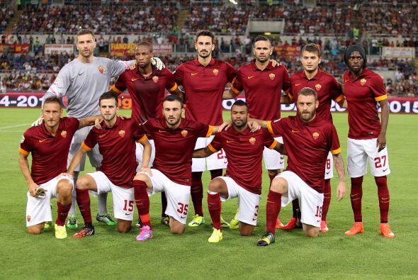 La Roma (Italia) vuelve a la competición tras su excelente temporada pas...