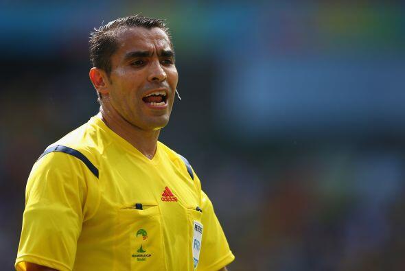 Julio de 2014, sobre Marco Antonio Rodríguez, ex árbitro internacional:...