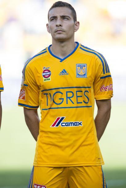 Marco Rubén es una de las caras nuevas en Tigres, el delantero jugó con...