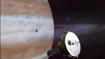 """New Horizons"" llega cerca del 'planeta enano', Plutón"