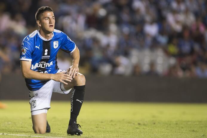 Transferencia definitiva de Hiram Mier desde Monterrey a Querétaro.