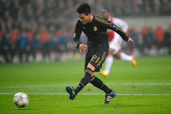 Callejón buscaba aprovechar la oportunidad que le daba José Mourinho.