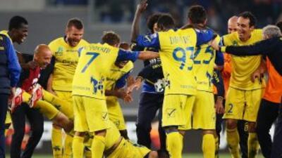 El francesThereau marcó el gol con el que el Chievo derrotó a los roman...