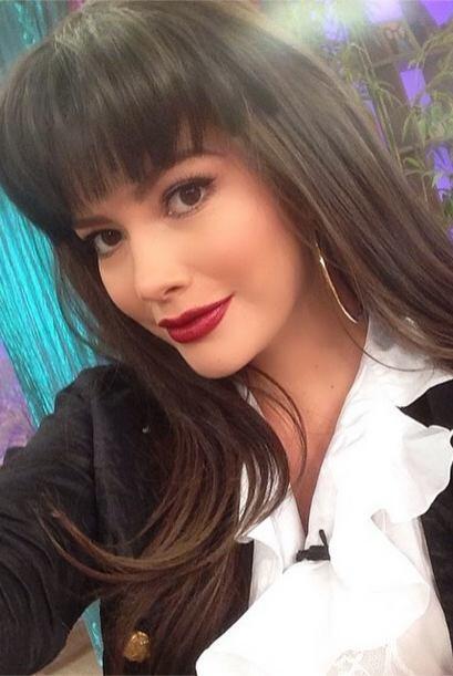 """""""#RecordandoLos90 en @DespiertaAmericaTv vestida hoy de mi ídola en aque..."""