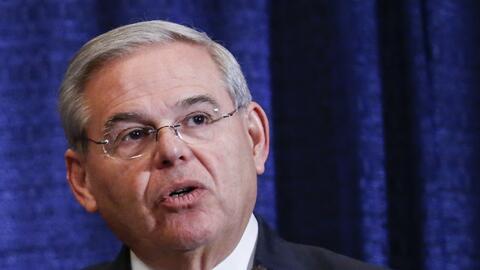 El senador Bob Menéndez