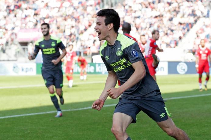 (Eredivisie) - Utrecht 1-[7] PSV: regresó Hirving Lozano tras su suspens...