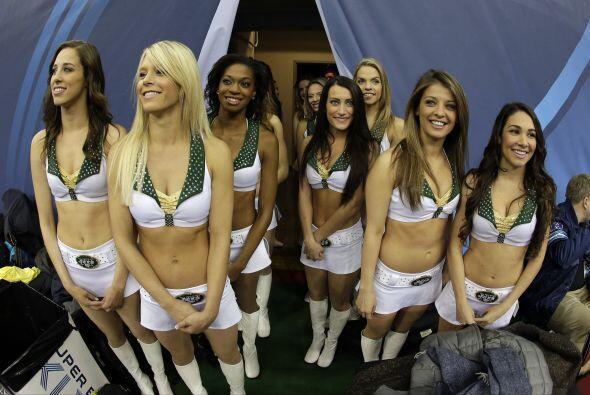 ¡Hermosas! (AP-NFL).