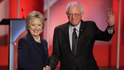 Así fue el debate demócrata previo a las primarias de New Hampshire deba...