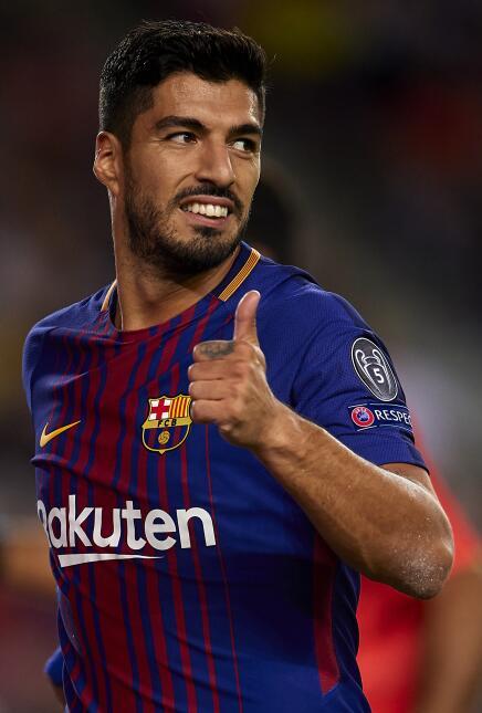 4. Luis Suárez (Barcelona) - Puntaje: 92