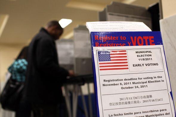 Los electores ya han estado votando, en este caso en la Alcaldía de San...