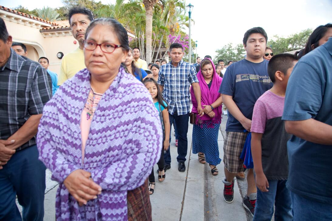 Las autoridades estiman que 55,000 guatemaltecos viven en el condado de...