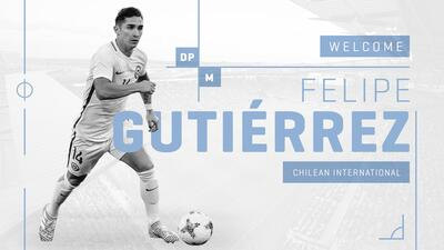 El Mundialista y Campeón de América Felipe Gutiérrez es el nuevo Jugador Franquicia de Sporting KC