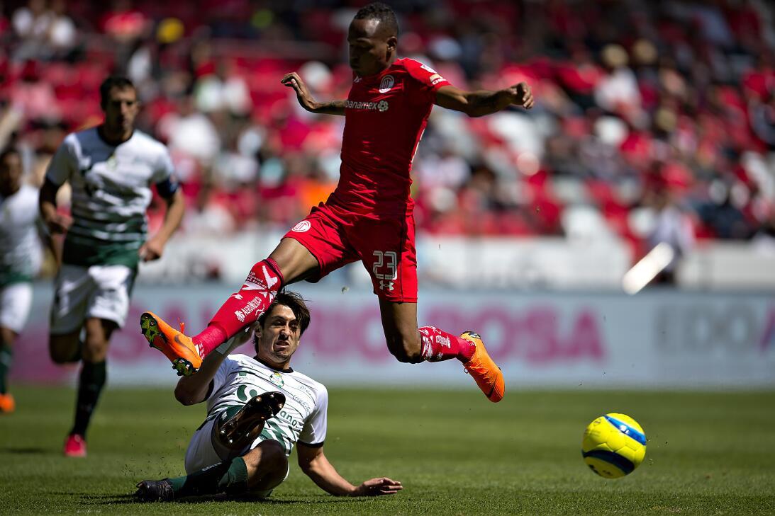 En fotos: con doblete de Uribe, Toluca le hace la 'diablura' a Santos 20...
