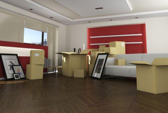 Pieza de arte. Si sientes que la nueva casa está muy vacía, un buen punt...