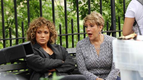 Jennifer López no solo ha necesitado el apoyo de su mamá,...