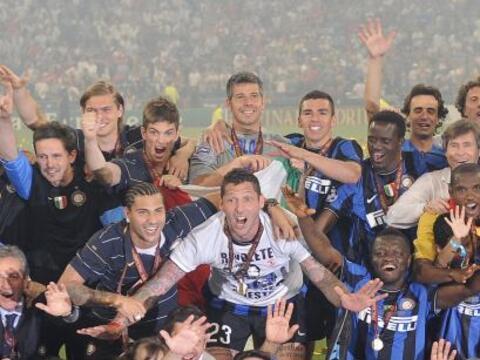 El primer sector de la fase de grupos de la Champions League 2010-11 tie...