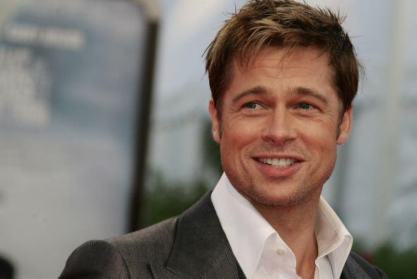Brad Pitt a finales de 2007.