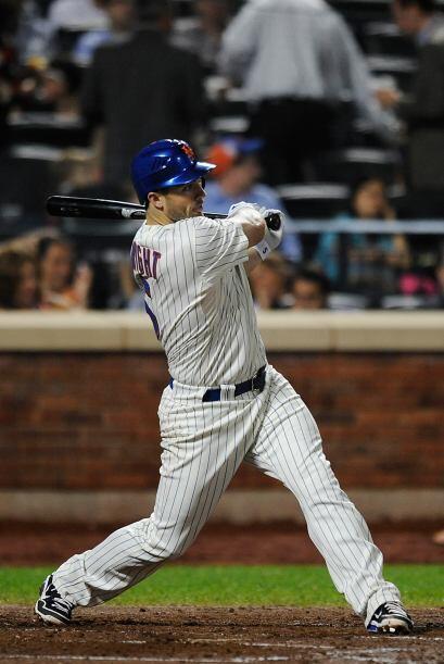 David Wright, tercera base que es el máximo ídolo de los Mets de los últ...
