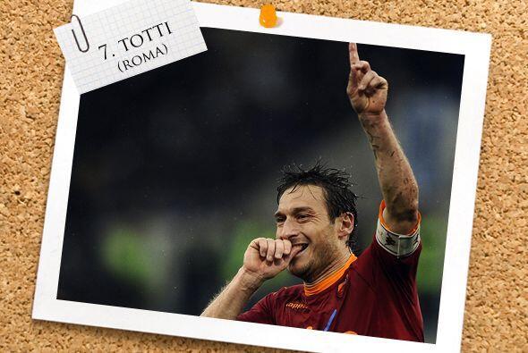 Francesco Totti de la Roma es como los vinos.