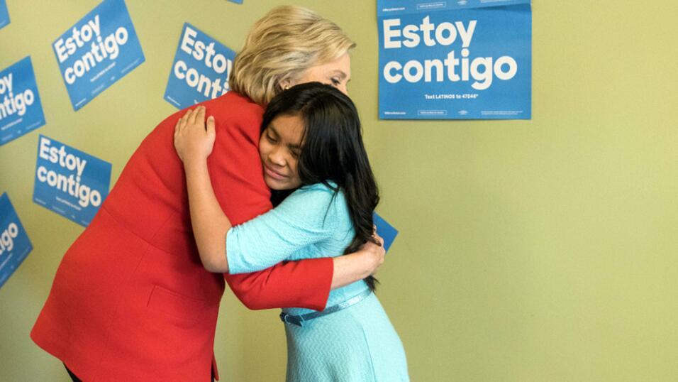 14 de febrero de 2016, el encuentro de Hillary Clinton con una Dreamer....
