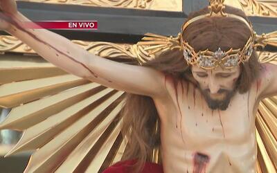 Comunidad católica de Richmond celebra la llegada del Señor del Encino