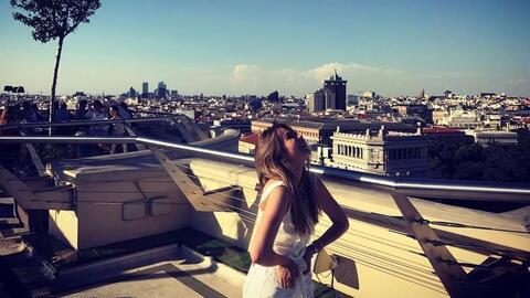 Sofía Castro compartió las mejores fotos de sus vacaciones...