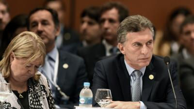 Macri, presidente de Argentina.