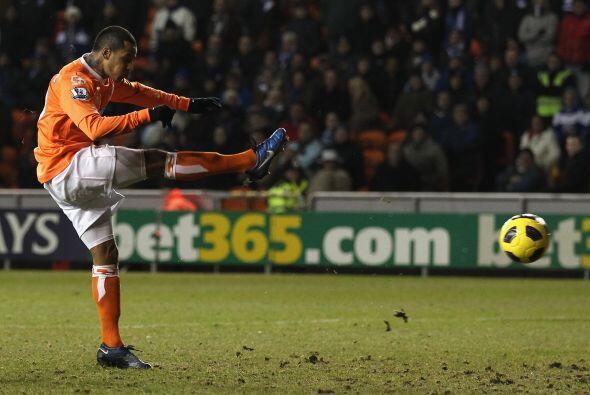 Pero ya en el segundo tiempo, D. J. Campbell respondió por el Blackpool.