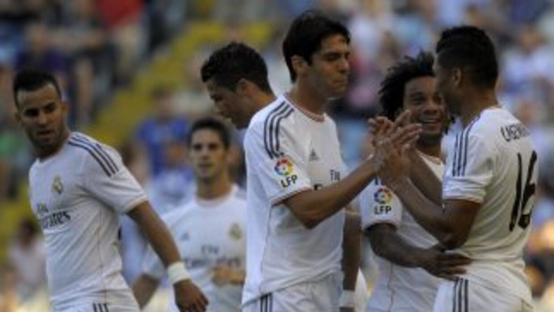 Los madridistas ya ganaban 3-0 desde el minuto 16, gracias a los goles d...