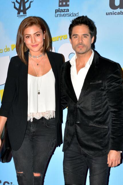 José Ron y Daniela Álvarez