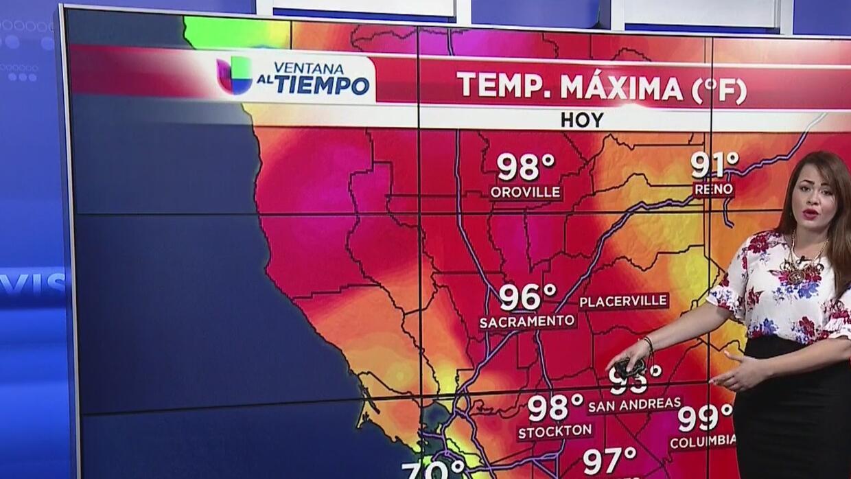 Tormentas monzónicas en la Sierra Nevada y condiciones estables en Sacra...