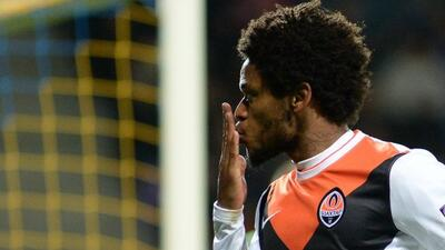 El delantero brasileño acusó racismo de aficionados bielorrusos.