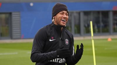 ¡Se terminaron las vacaciones! Neymar ya trabaja con el PSG