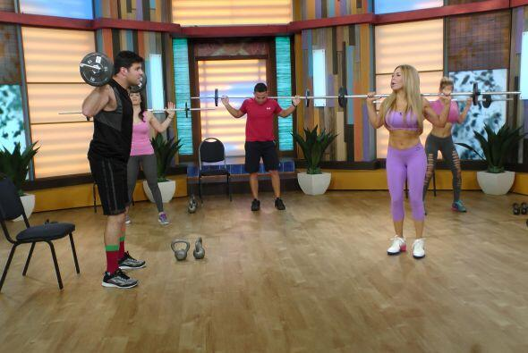 También explicó los beneficios que adquiere este ejercicio al mantener u...