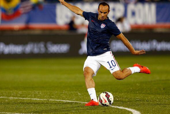 Fue la última vez que Donovan calentó con el 'US Soccer Team'.