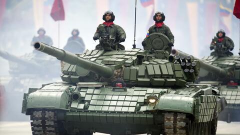 Rusia enviará a Nicaragua 50 carros de combate modernizados T-72B1 como...