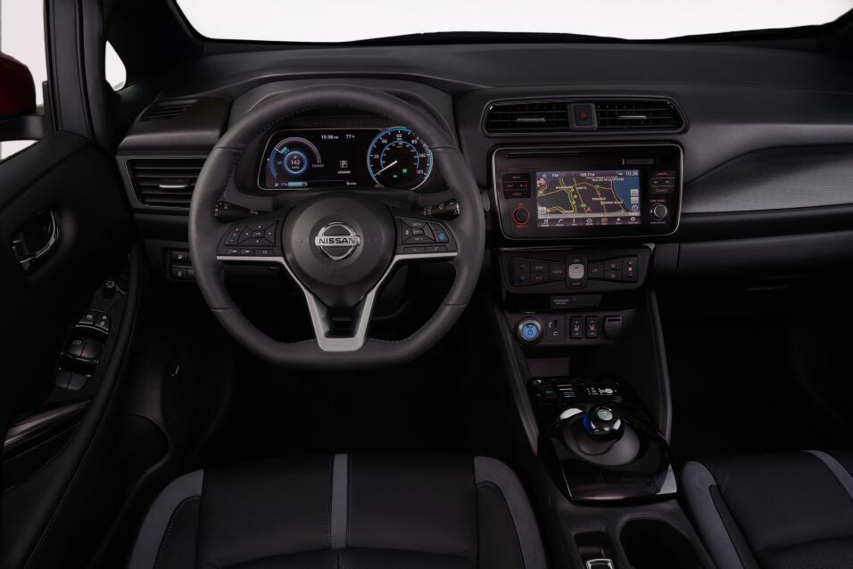 Estos seis datos son todo lo que hay que saber del nuevo Nissan Leaf 201...