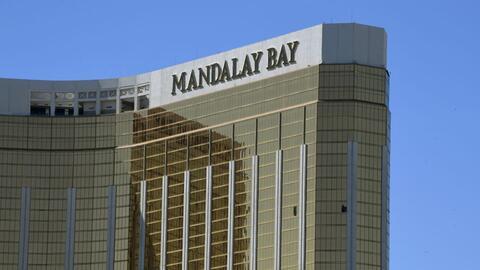 El asesino disparó desde el piso 32 del hotel desde donde hiri&oa...