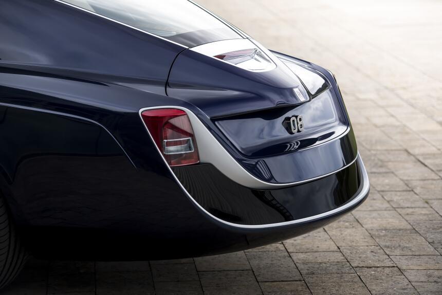 Detalles y fotos del Rolls Royce Sweptail, el auto nuevo más caro de tod...
