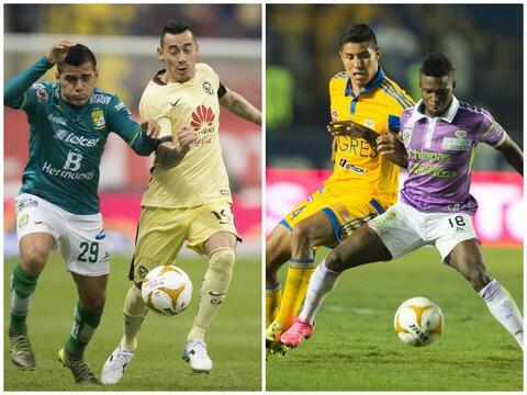 América goleó a León y Tigres logró una vict...