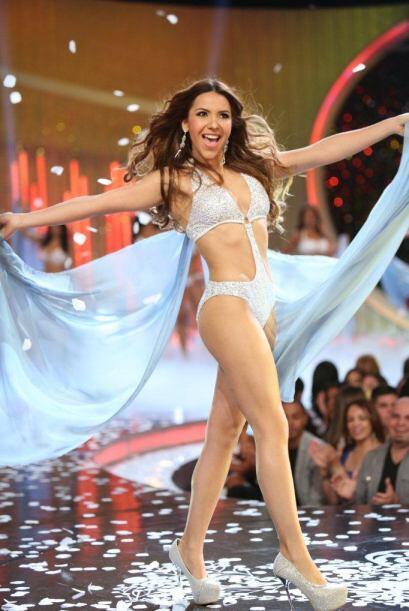 La mexicana que audicionó en Chicago debutó en la pasarela en Nuestra Be...