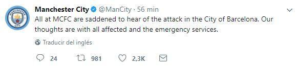 El mundo del deporte se solidariza con las víctimas de Barcelona BCN16.JPG