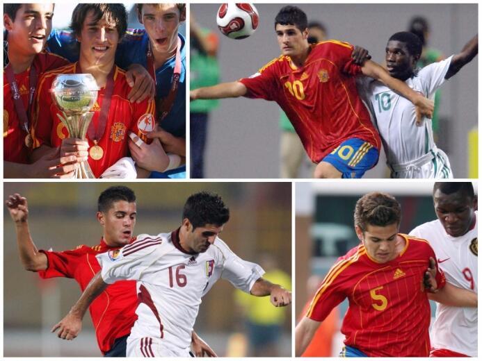Figuras que surgieron de la última selección de España finalista de un M...