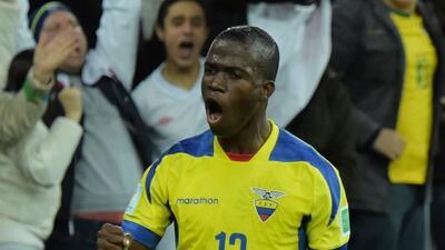 El ecuatoriano fue el mejor goleador en la liga mexicana en el 2014, hec...