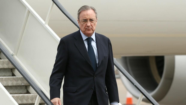 Florentino Pérez llegó a la dirigencia merengue por primera vez en 2000.