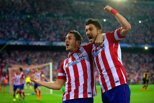 El Atlético de Madrid llegaba con ligera ventaja debido al gol de visita...