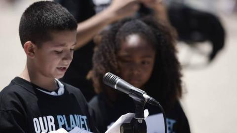 Joseph Moreno, de solo 12 años, le dió una lección...