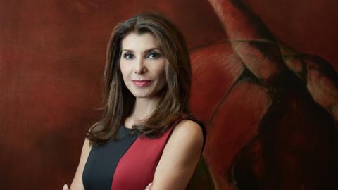 La periodista Patricia Janiot