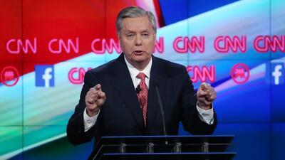 """""""Extraño a George W. Bush"""" y otras frases de Graham en el debate republi..."""