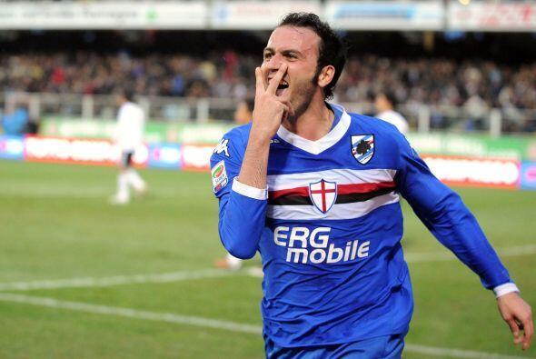 Con el tanto de Pazzini, Sampdoria venció por 1-0.